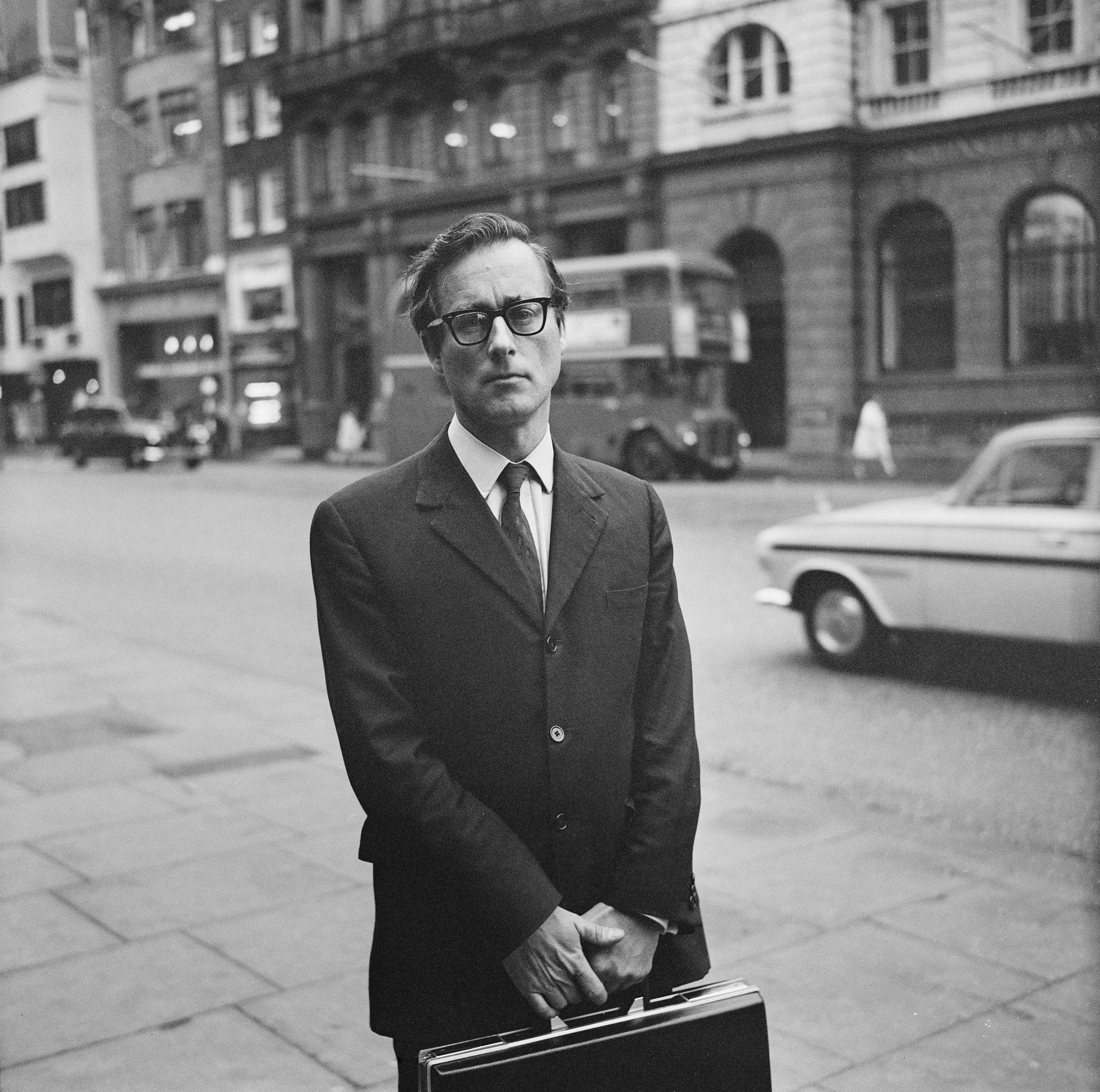 Evans in London, September 1968.