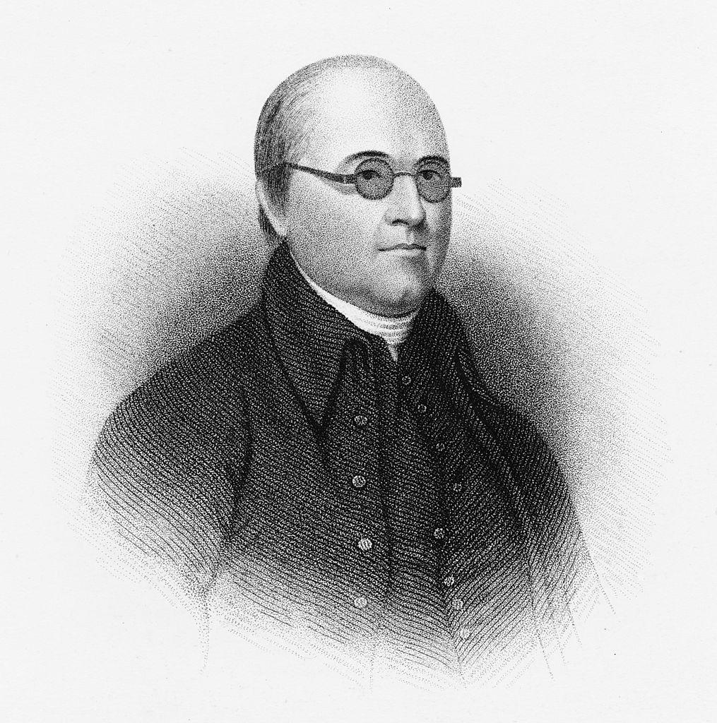 circa 1795: Reverend Timothy Dwight IV (1752 - 1817)