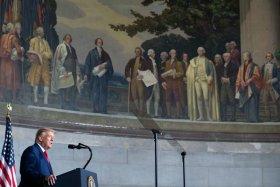 Donald Trump's American History speech