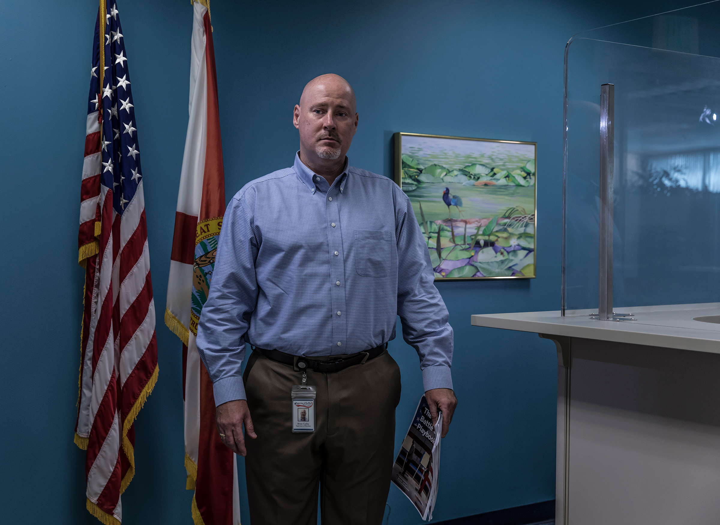 It's tough to put the genie back in the bottle.  - Brian Corley, supervisor of elections, Pasco County, Florida (Republican)
