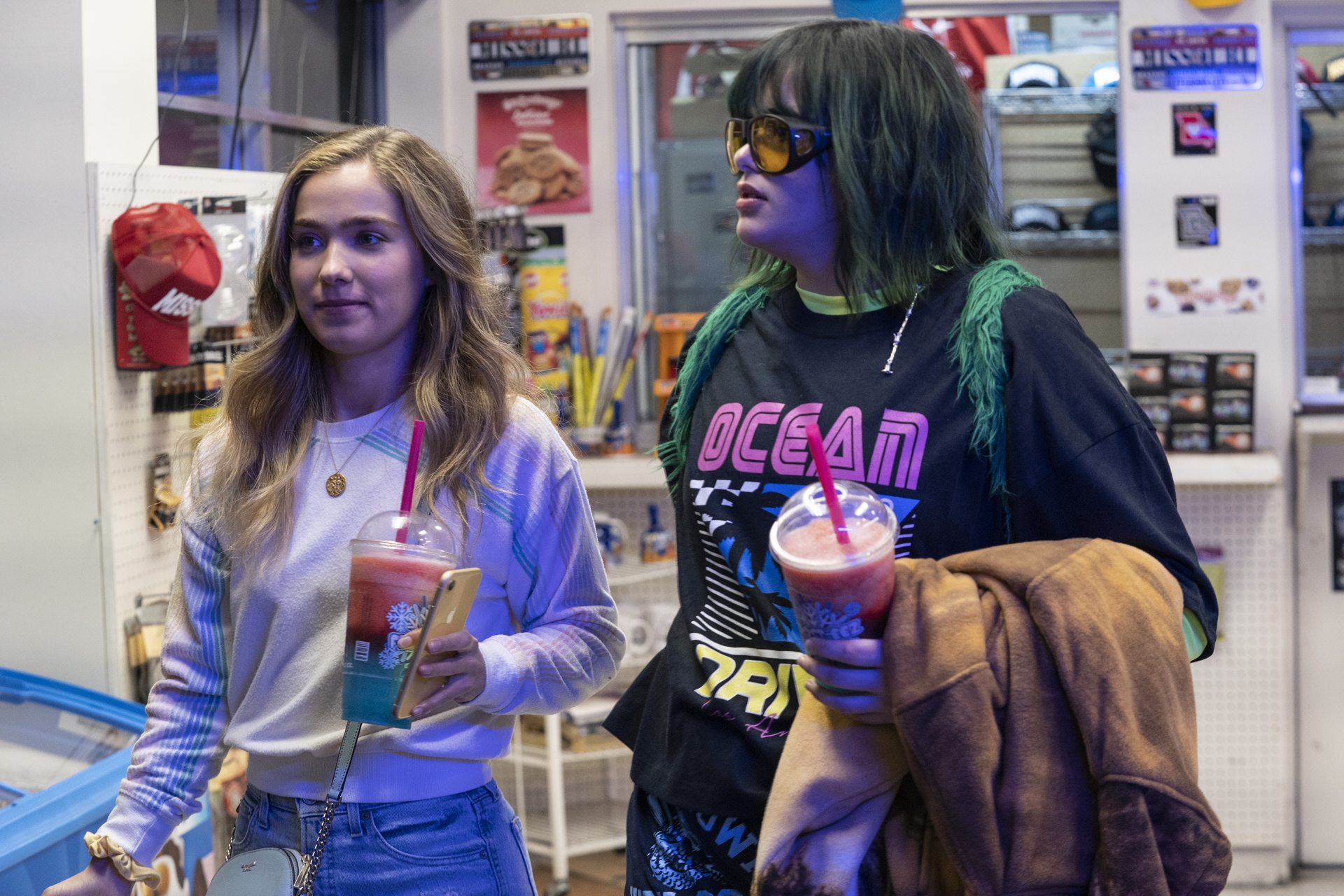 Haley Lu Richardson and Barbie Ferreira journey across state lines for an abortion in 'Unpregnant'