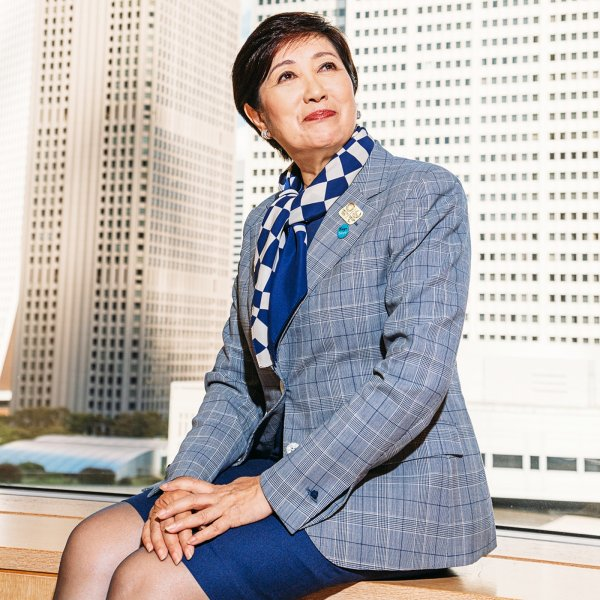 Tokyo Governor Yuriko Koike says her city is ready for next year's rescheduled Olympic Games and sees opportunities to leverage the crisis to improve governance.