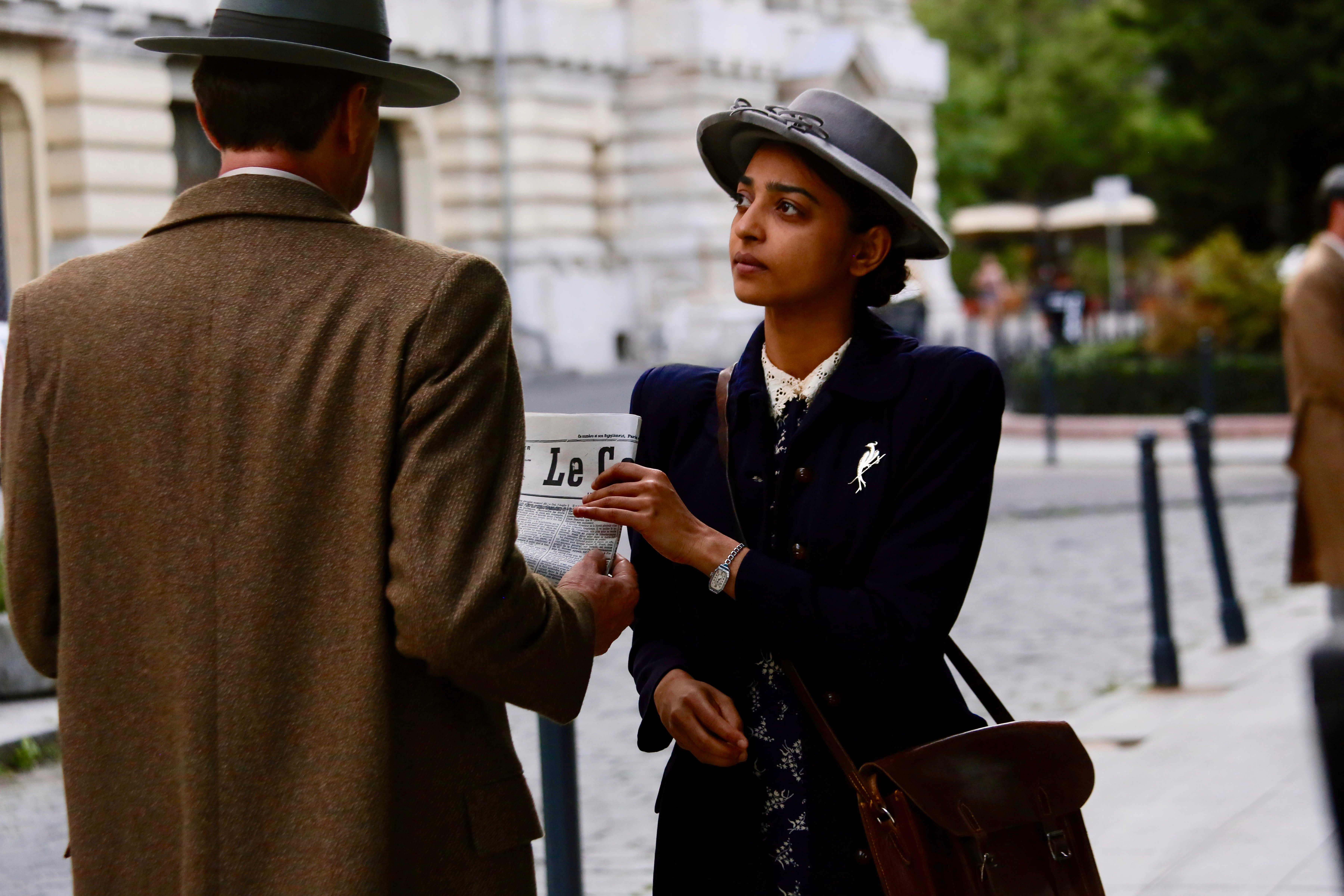 Radhika Apte as Noor Inayat Khan in 'A Call to Spy'