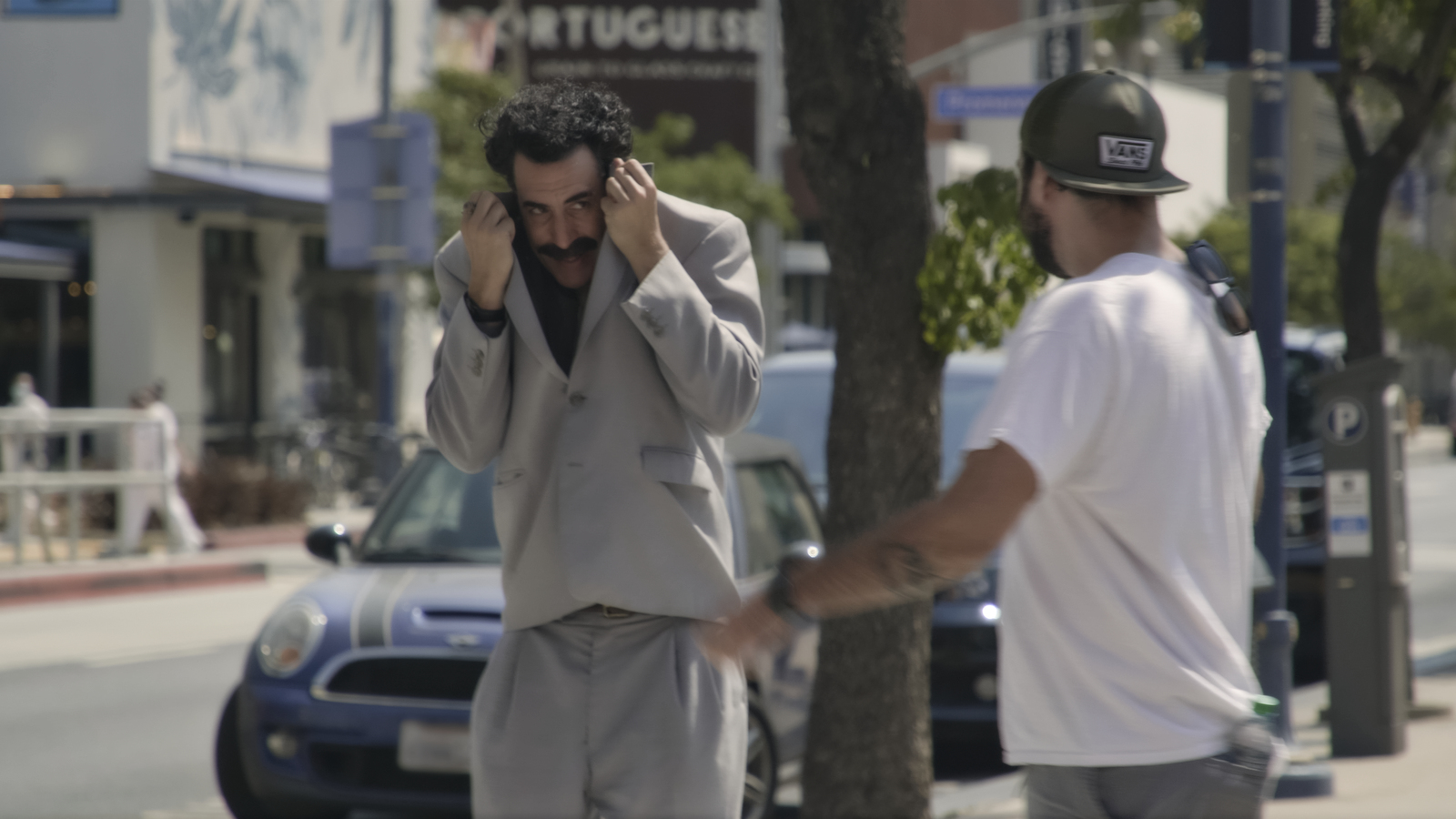 Sacha Baron Cohen in 'Borat Subsequent MovieFilm'