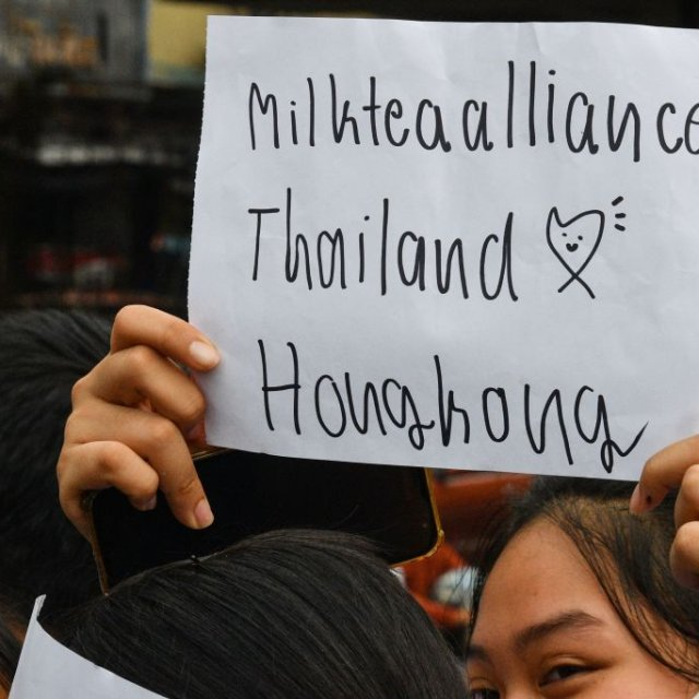 The Milk Tea Alliance Is Uniting Pro-Democracy Activists