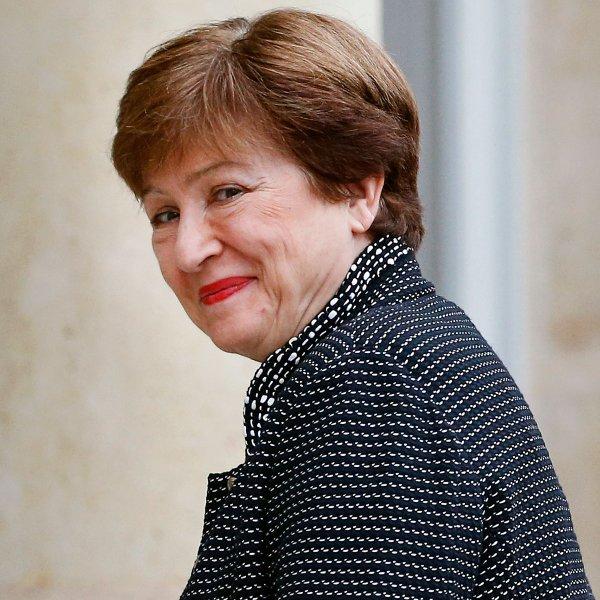Kristalina Georgieva, 66, an environmental economist, took the helm as managing director of the International Monetary Fund in October 2019.