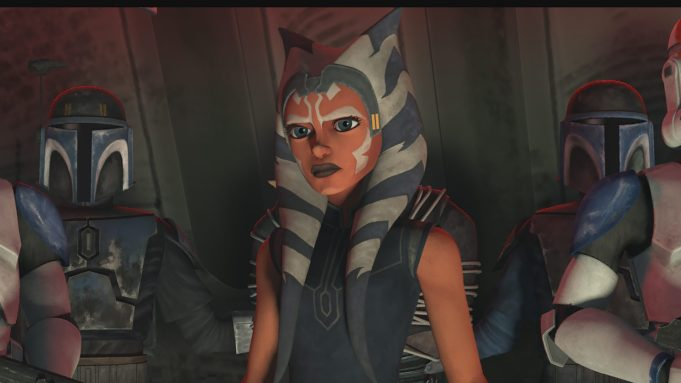 Ahsoka Tano in Clone Wars