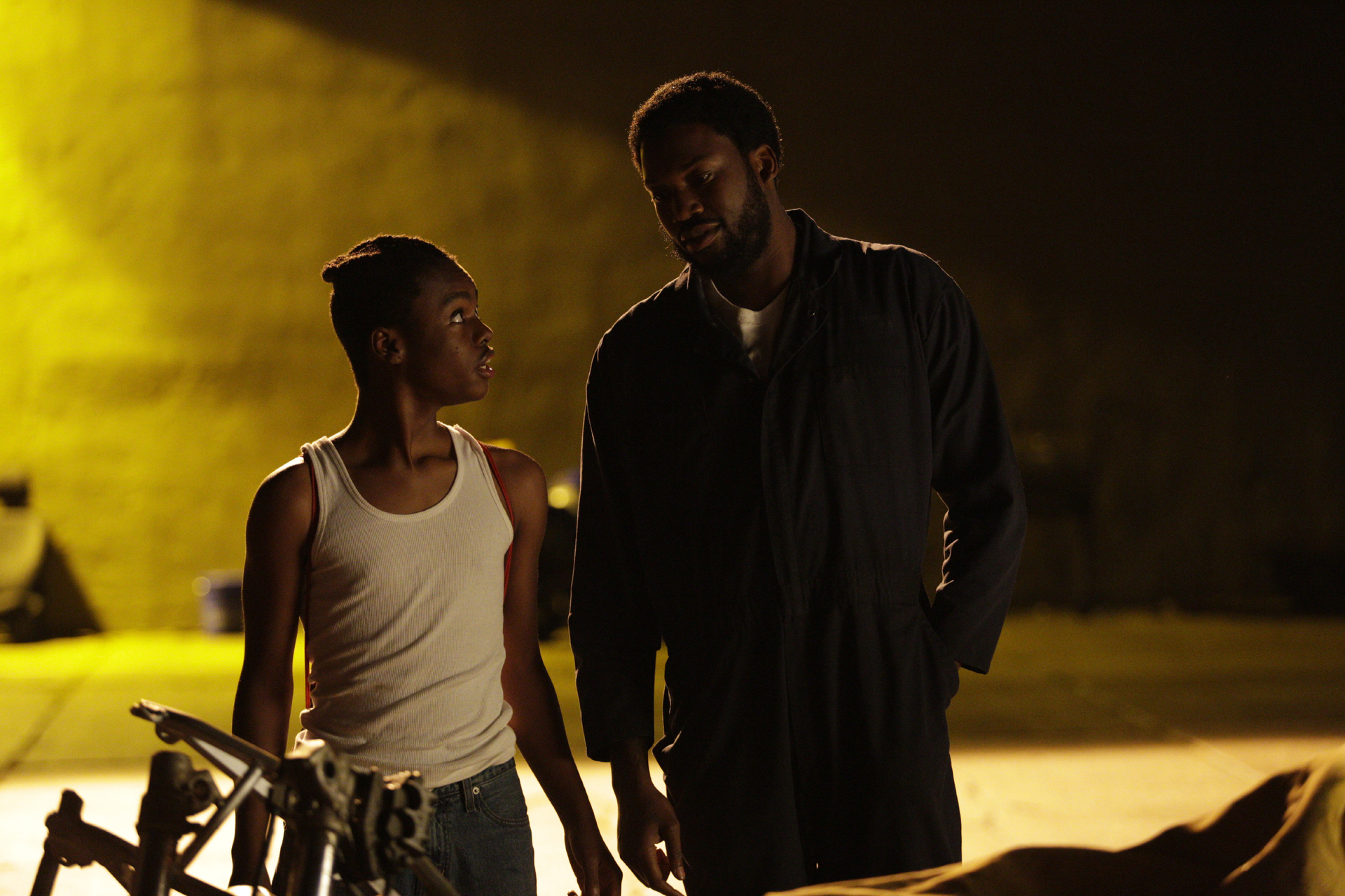 Jahi Di'Allo Winston and Meek Mill in 'Charm City Kings'