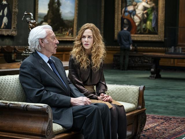 Donald Sutherland and Nicole Kidman in 'The Undoing'