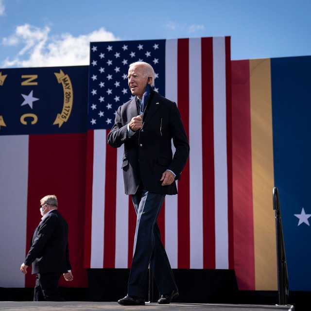 Biden Campaign Keeps Optimism in Check