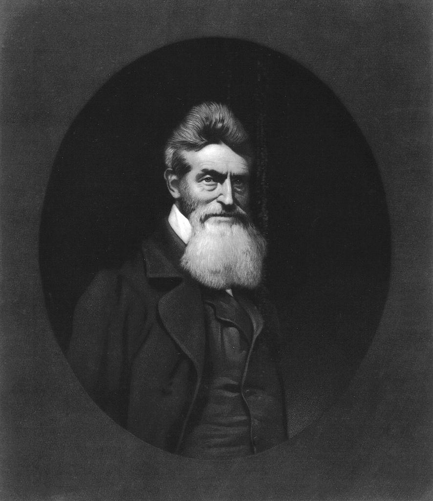 Nineteenth century portrait of John Brown (1800-1859)