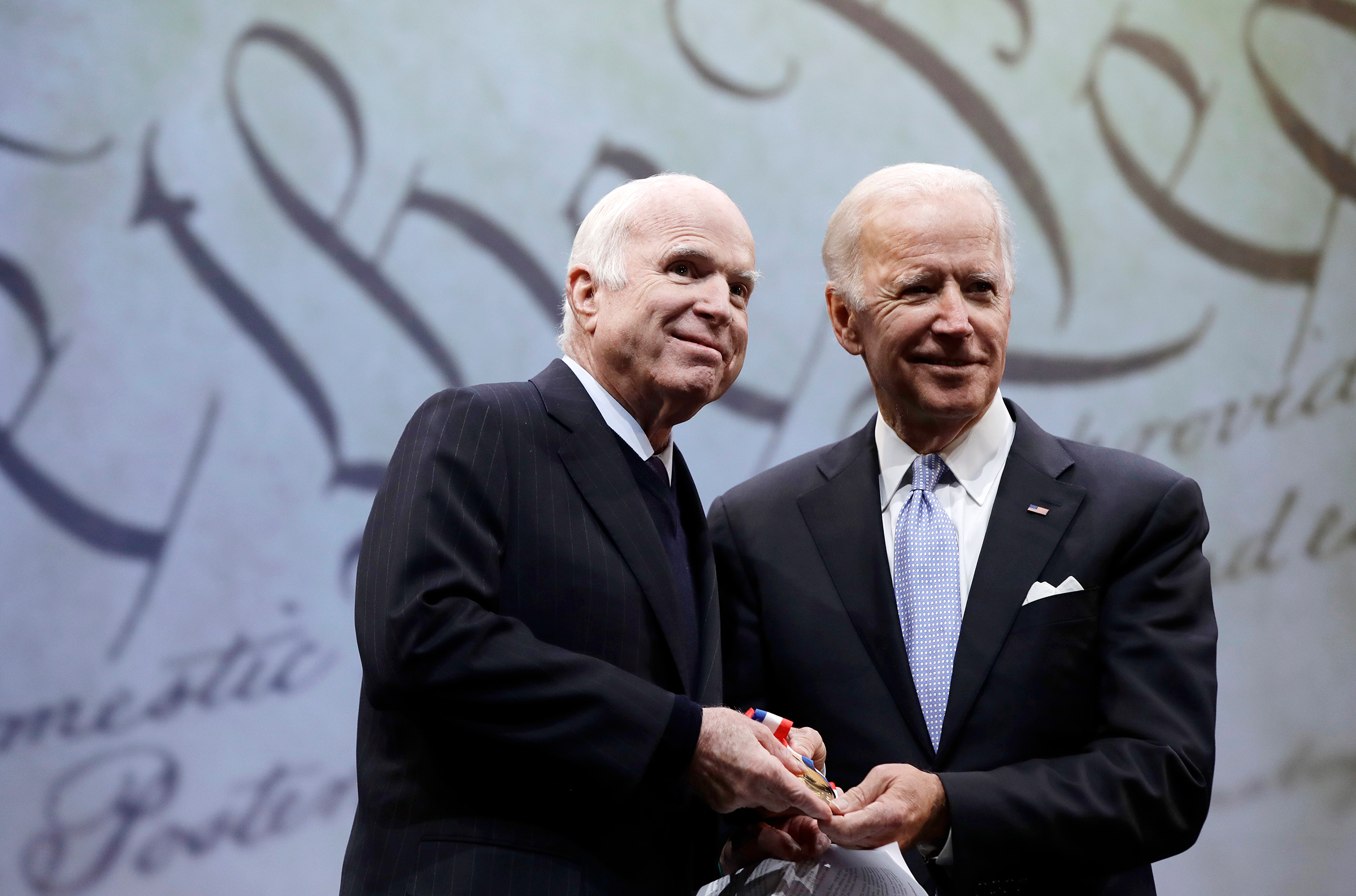 What America Should Learn From Biden And Mccain S Friendship Time