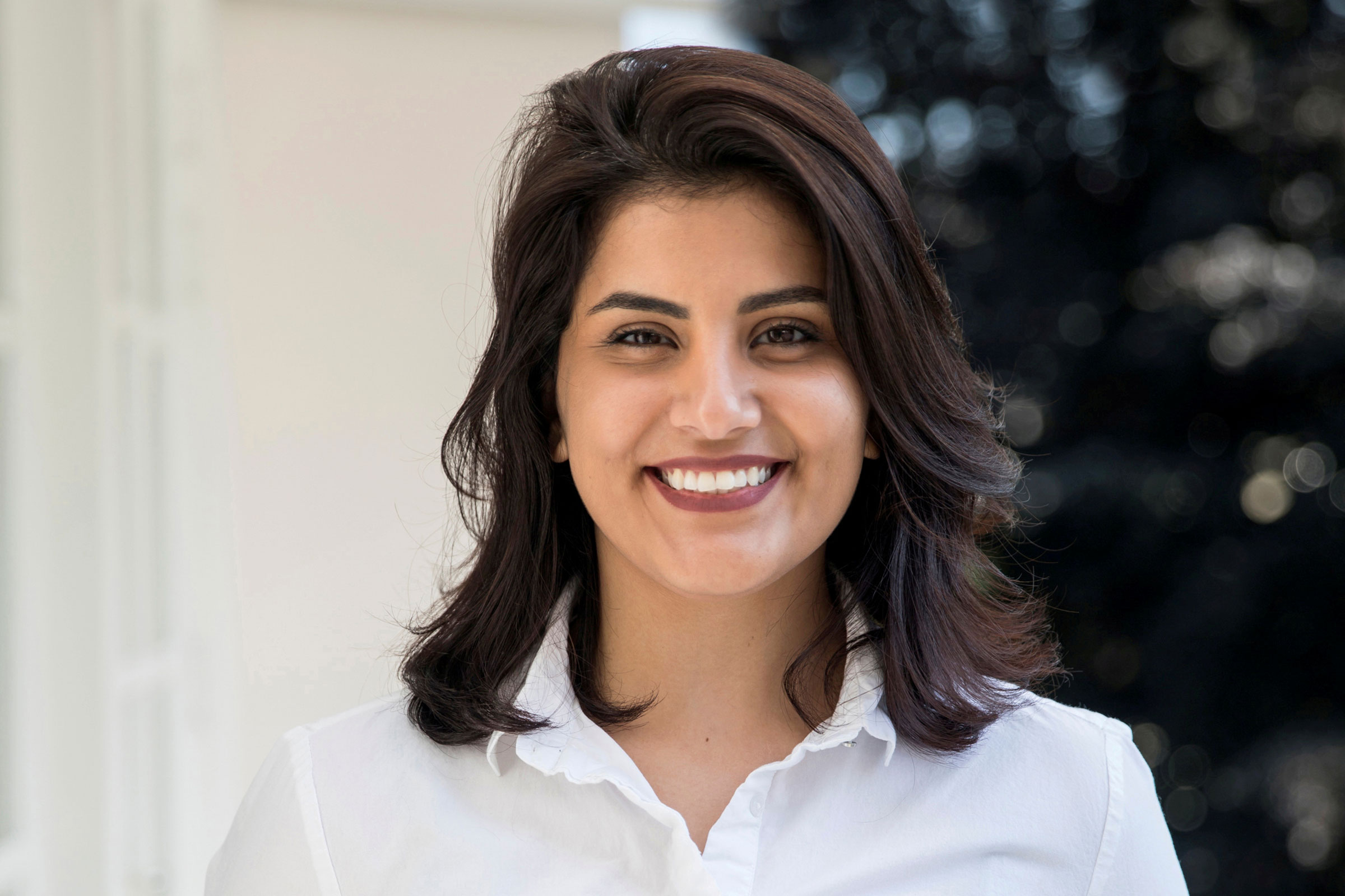 Saudi women's rights activist Loujain al-Hathloul.