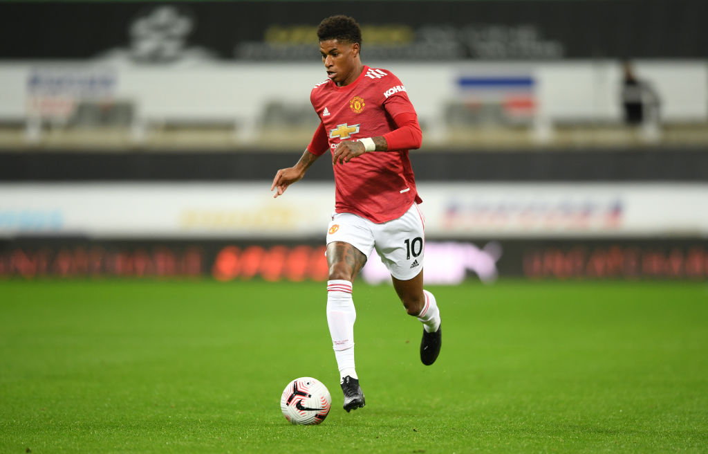 On the pitch, Marcus Rashford is one of Manchester United's top scorers. Off it, he's putting pressure on the U.K. government to end child food poverty.