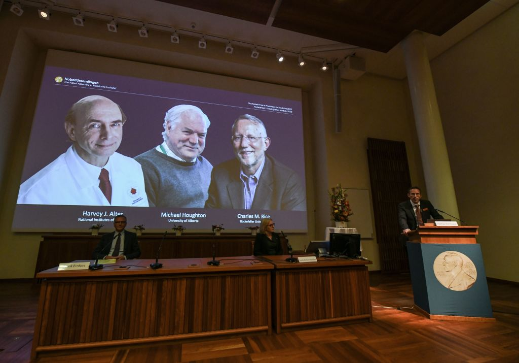 Nobel Prize for Medicine Goes to Hepatitis C Discovery | Time