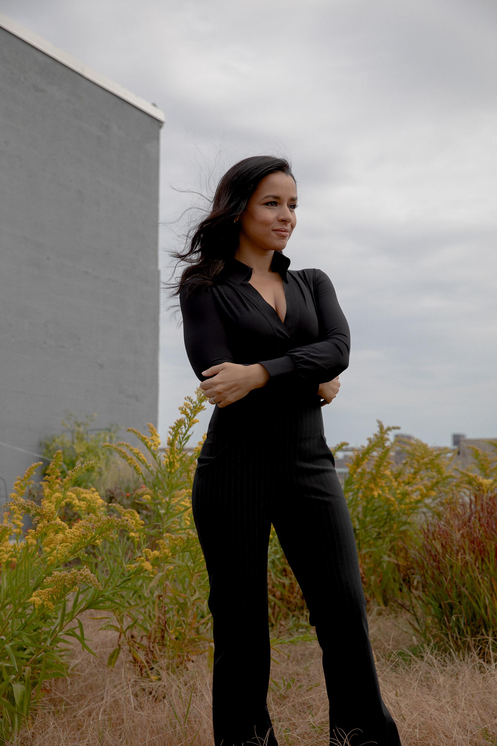 Sarah Cooper in Brooklyn on Oct. 11