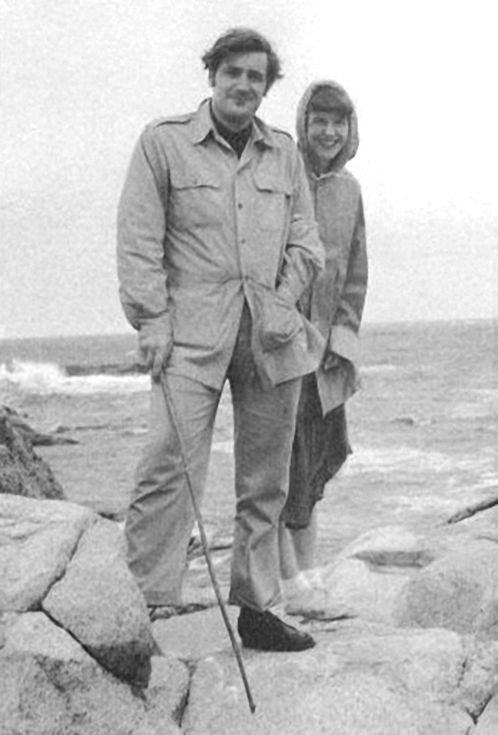 Hughes and Plath in Massachusetts, May 20, 1959