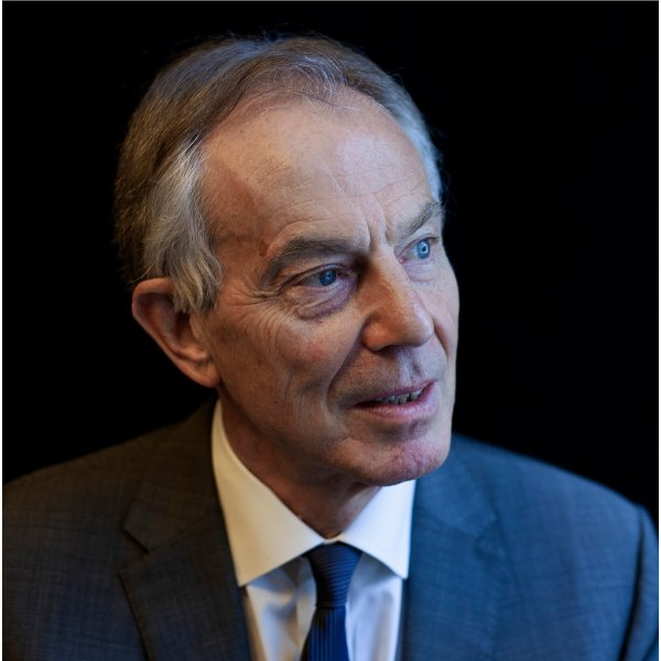 Former British prime minister Tony Blair on April 28, 2018.