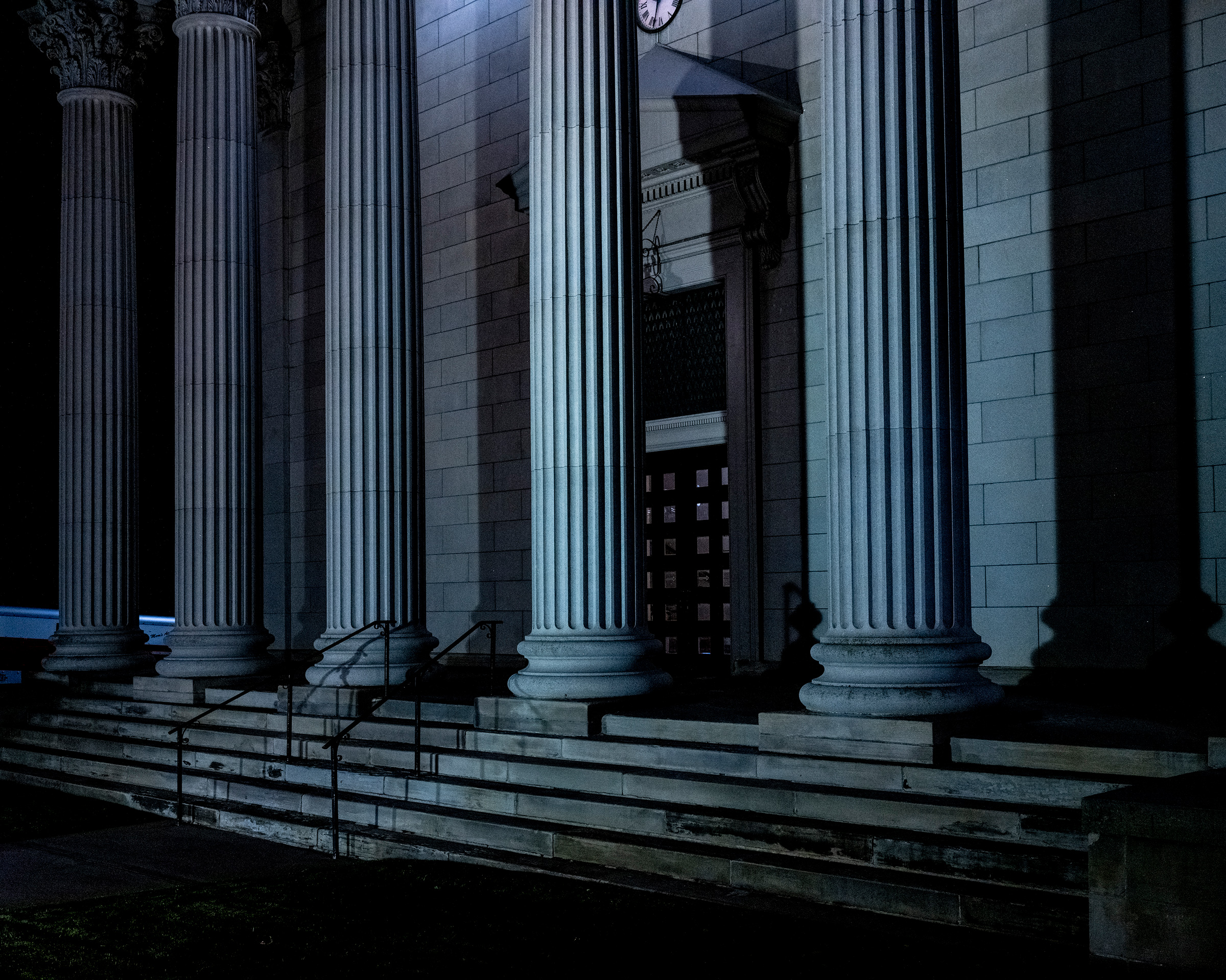 A courthouse in Pennsylvania, the most hotly contested state in this election and already the subject of legal challenges