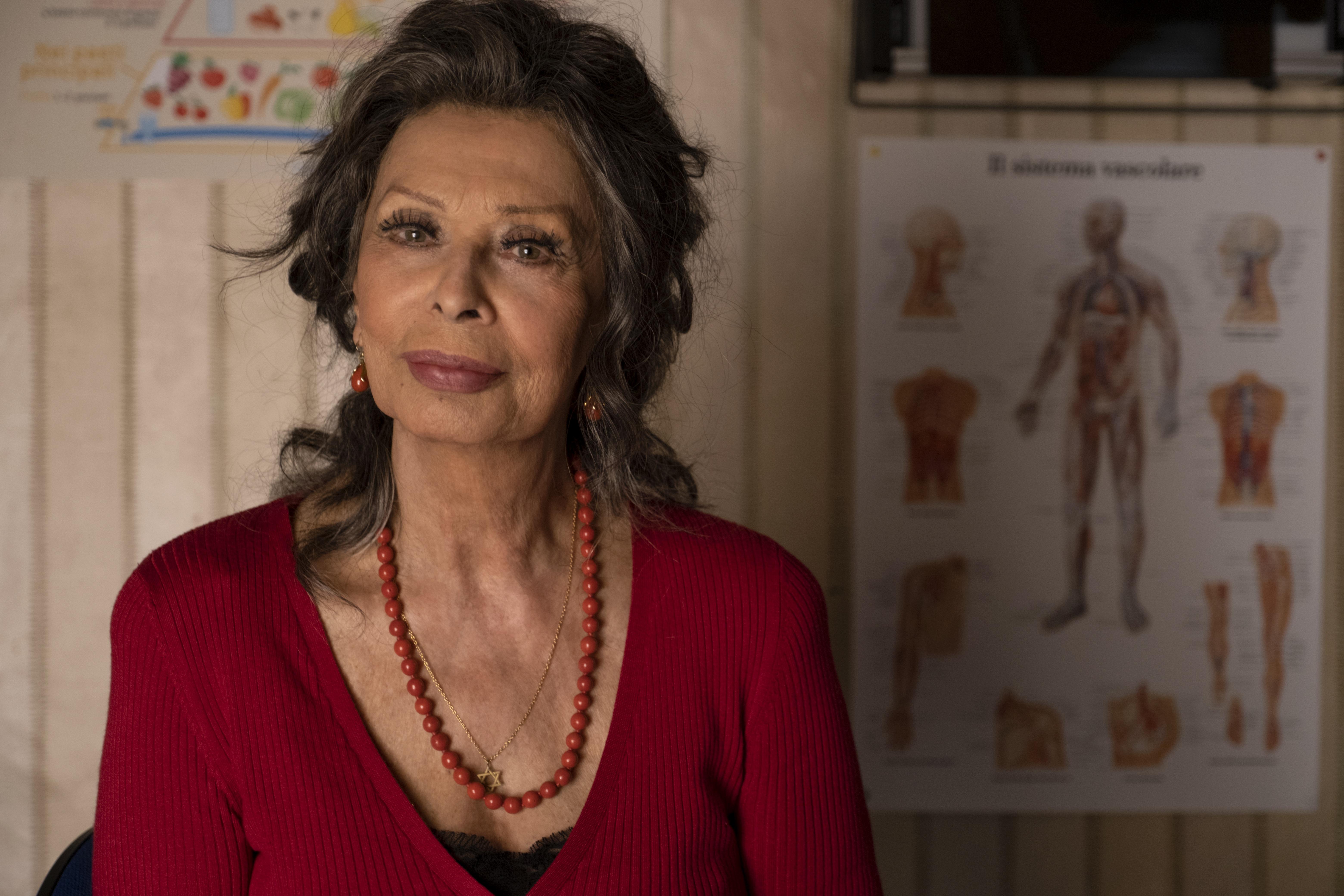 Sophia Loren in 'The Life Ahead'