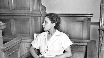 Emma Tenayuca as she took witness stand in 1937.