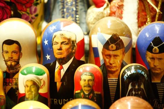 Russian wooden dolls