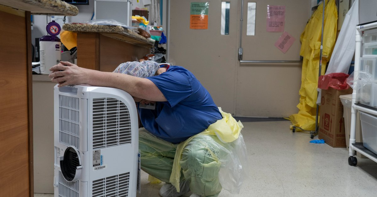 Doctors and Nurses Talk About Burnout as Another Wave of COVID-19 Hits U.S.