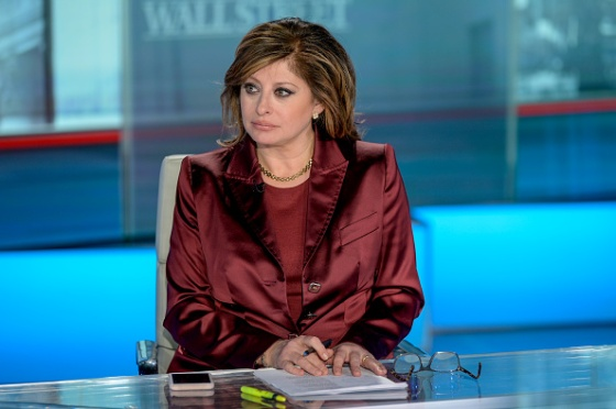Host Maria Bartiromo as Merrill & Bank Of America Private Bank CIO Chris Hyzy visits Maria Bartiromo's Wall Street at Fox Business Network Studios in New York City on January 10, 2020.