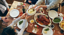 Good U.S. Weather Allows for an Outdoor (and Safer) Thanksgiving