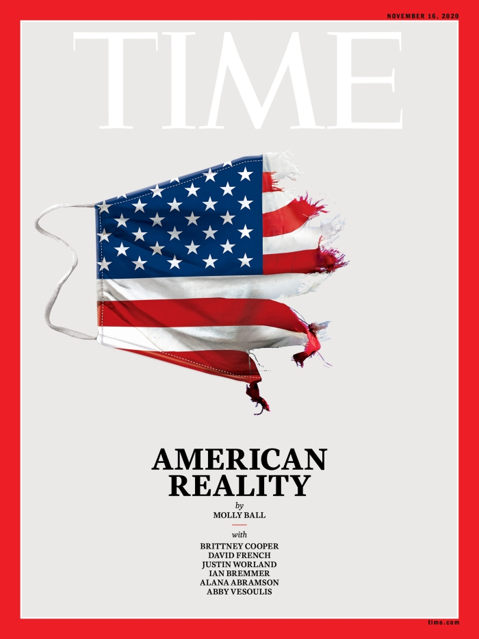 American Reality Time Magazine cover