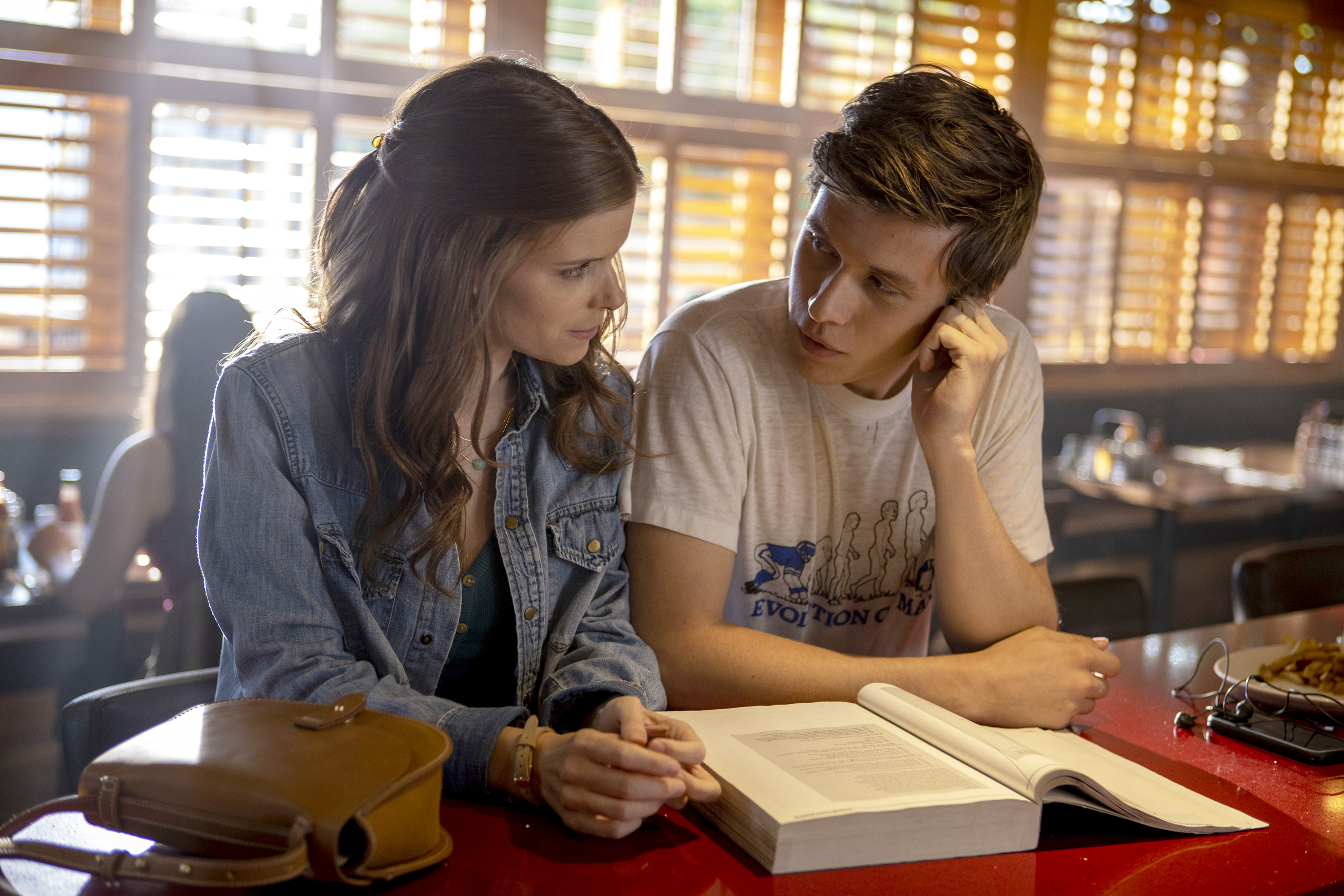 Kate Mara and Nick Robinson in 'A Teacher'