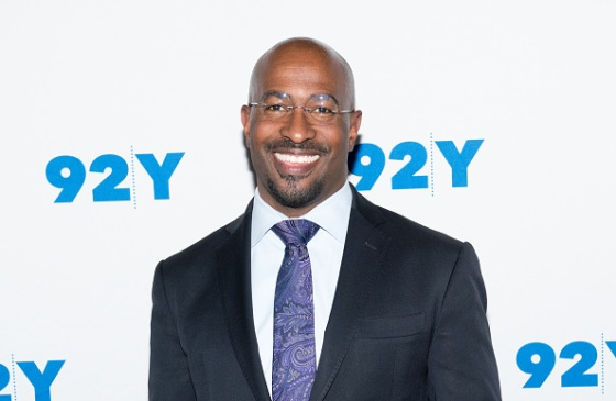 CNN contributor Van Jones attends 'Notes From The Field: Anna Deavere Smith in Conversation with Valerie Jarrett and Van Jones' at 92nd Street Y in New York City on February 19, 2018.