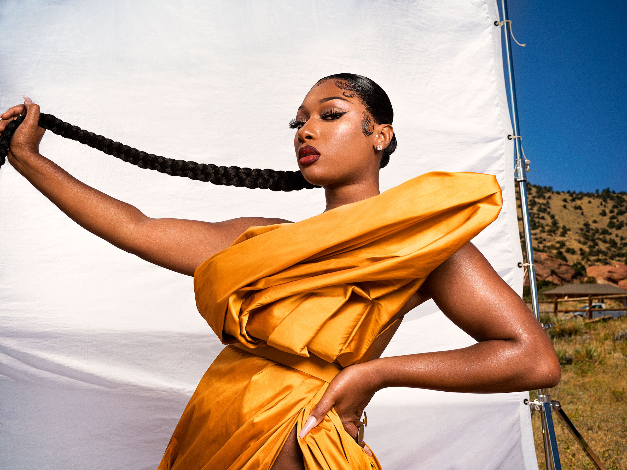 Megan Thee Stallion.  TIME 100 Most Influential People,  Oct. 5 issue.