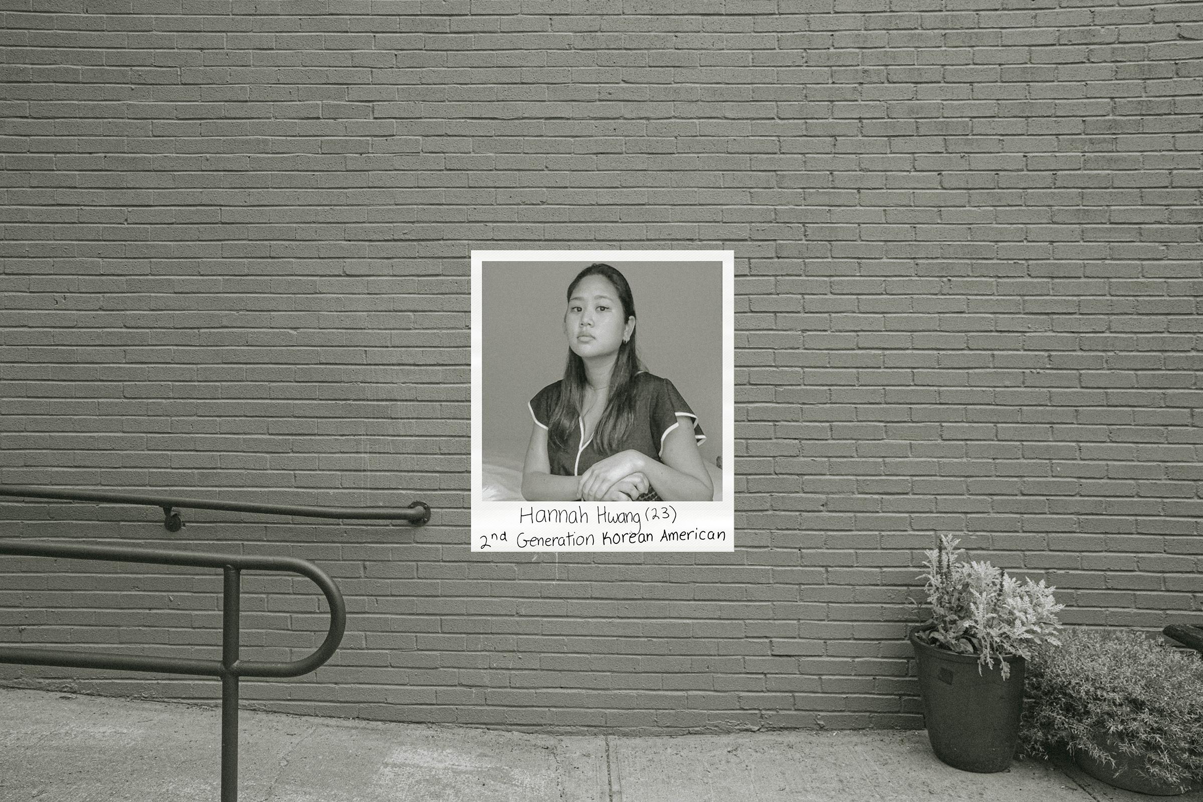 Hannah Hwang.  Facing Racism,  July 6 issue.