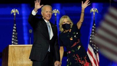 President-elect Joe Biden with his wife Jill Biden