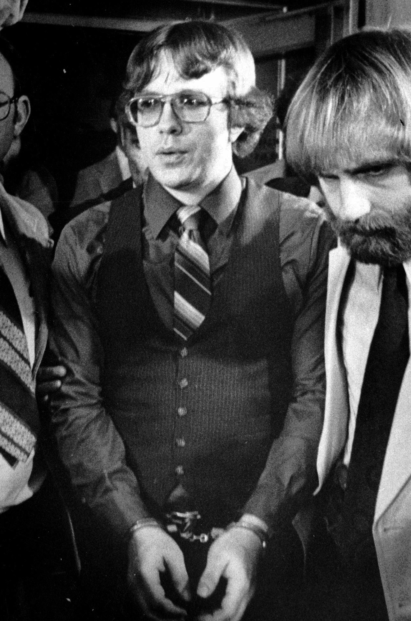 Joseph Paul Franklin following his conviction on two counts of first degree murder in Salt Lake City, June 2, 1981.
