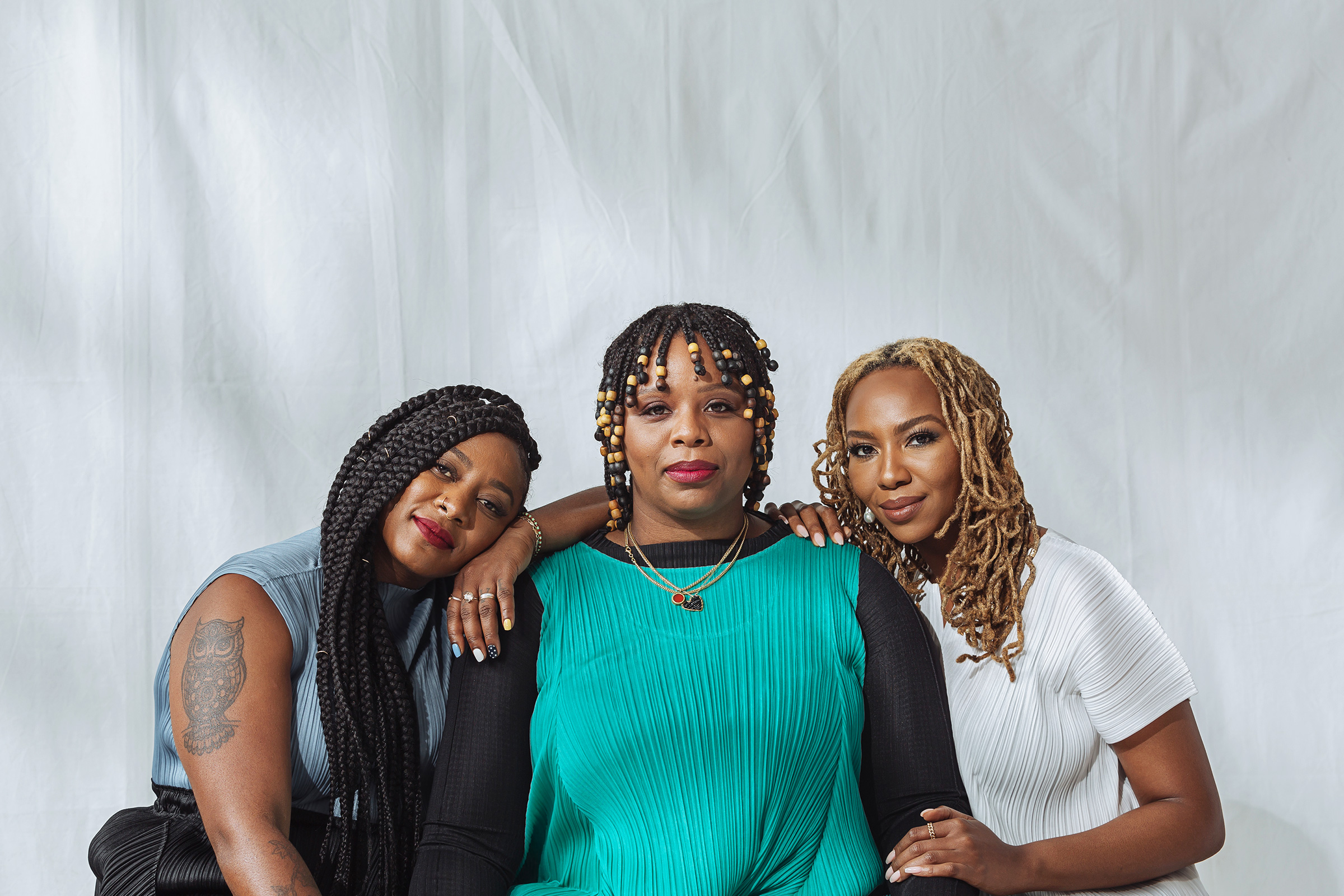 Alicia Garza, Patrisse Cullors and Opal Tometi, founders of Black Lives Matter.  TIME 100 Most Influential People,  Oct. 5 issue.