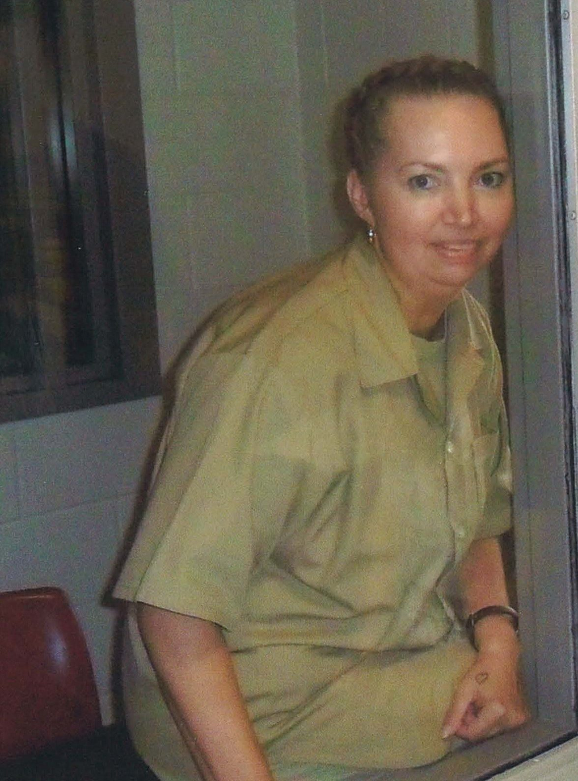 A photograph of Lisa Montgomery—the only woman on federal death row—taken in prison.