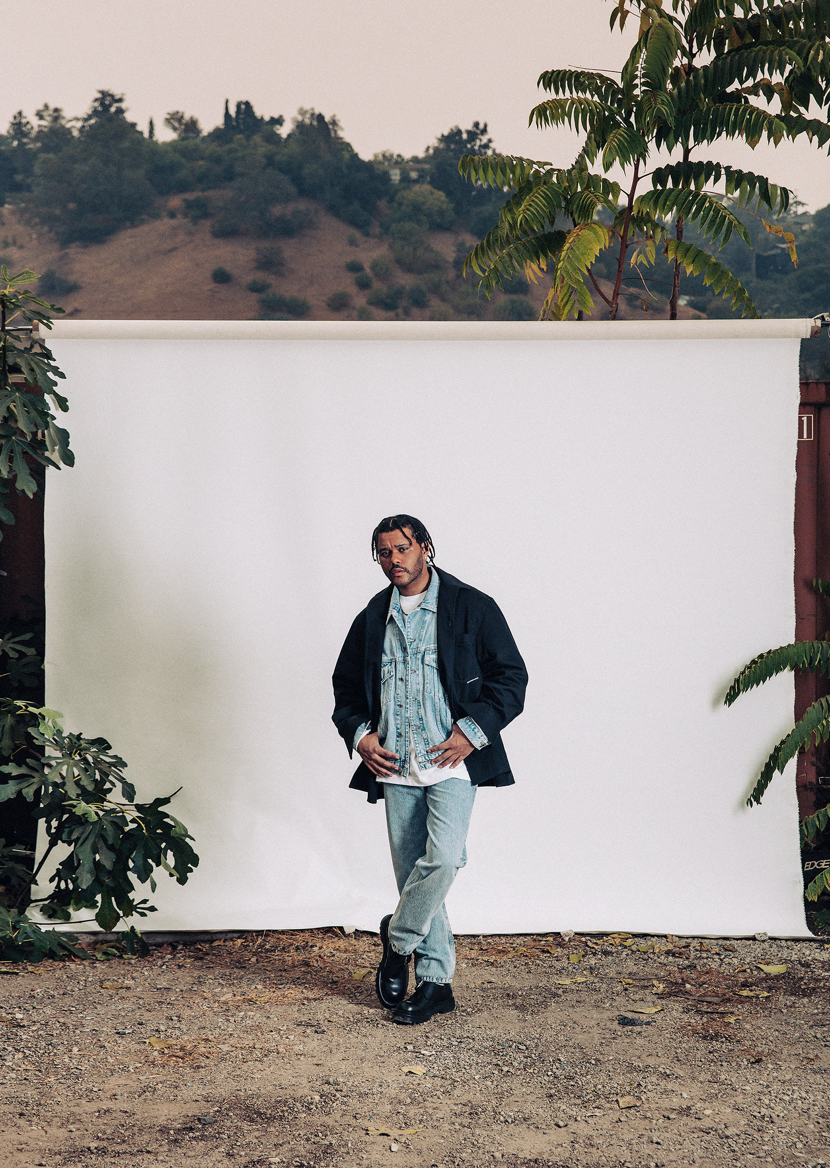 The Weeknd.  TIME 100 Most Influential People,  Oct. 5 issue.