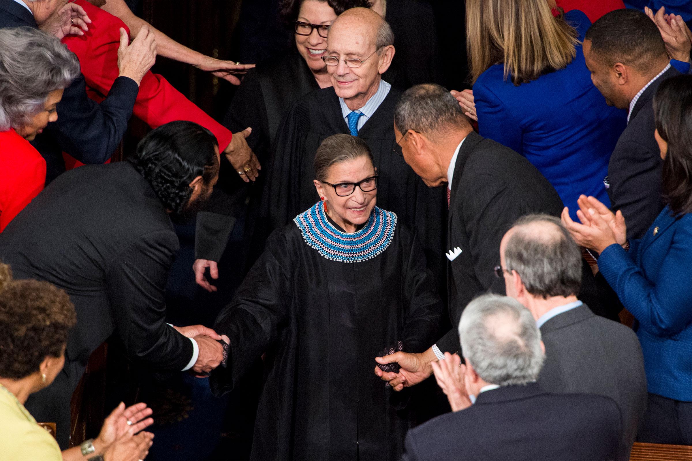 Ruth Bader Ginsburg Collars