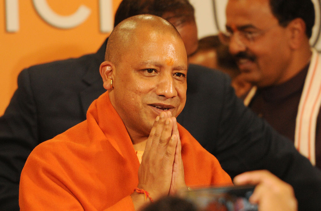 Uttar Pradesh Chief Minister Yogi Adityanath on December 1, 2017 in Lucknow, India.