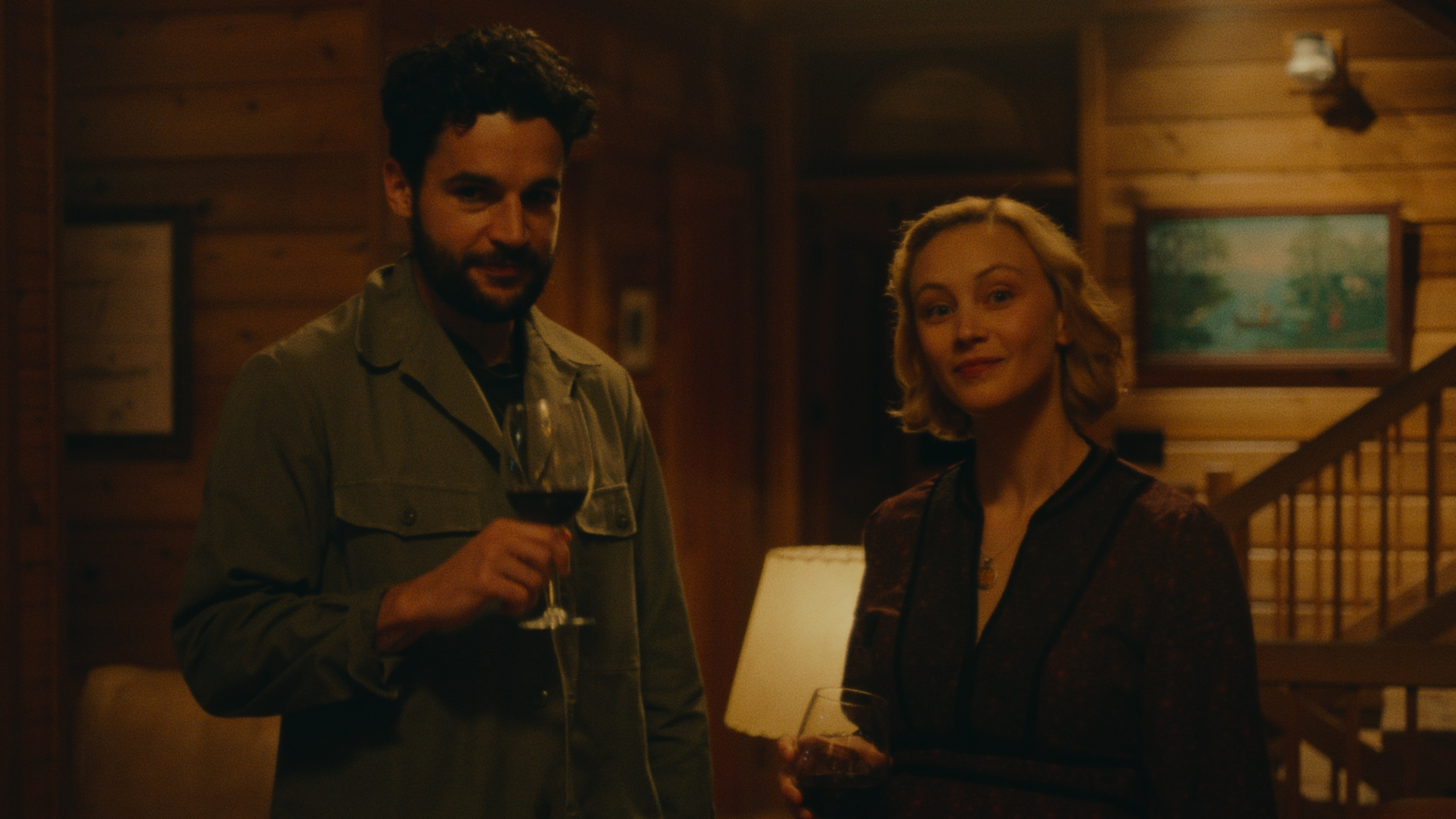 Christopher Abbott and Sarah Gadon