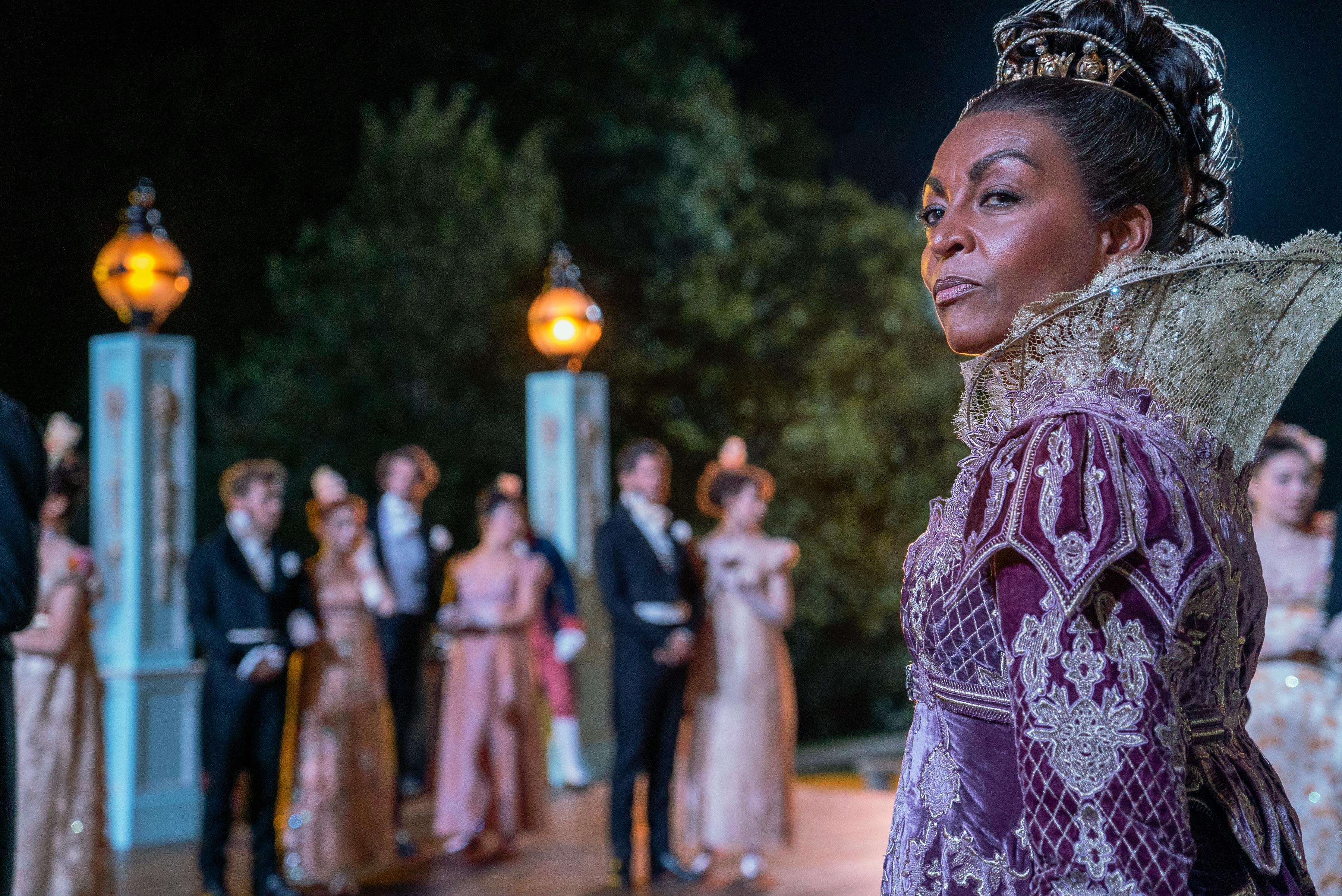 Adjoa Andoh in 'Bridgerton'