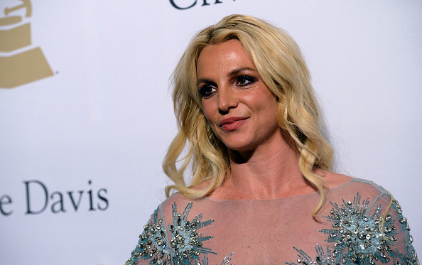 Britney Spears walks the red carpet at the 2017 Pre-Grammy Gala and Salute to Industry Icons Honoring Debra Lee at The Beverly Hilton Hotel in Beverly Hills, Calif. on Feb. 11, 2017.