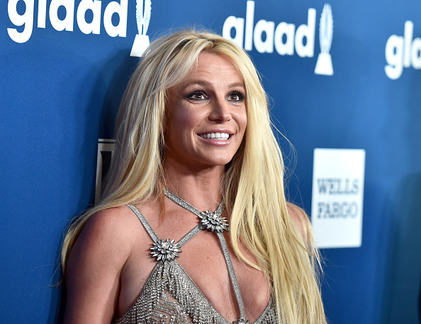 Britney Spears attends the 29th Annual GLAAD Media Awards at The Beverly Hilton Hotel in Beverly Hills, Calif. on April 12, 2018.