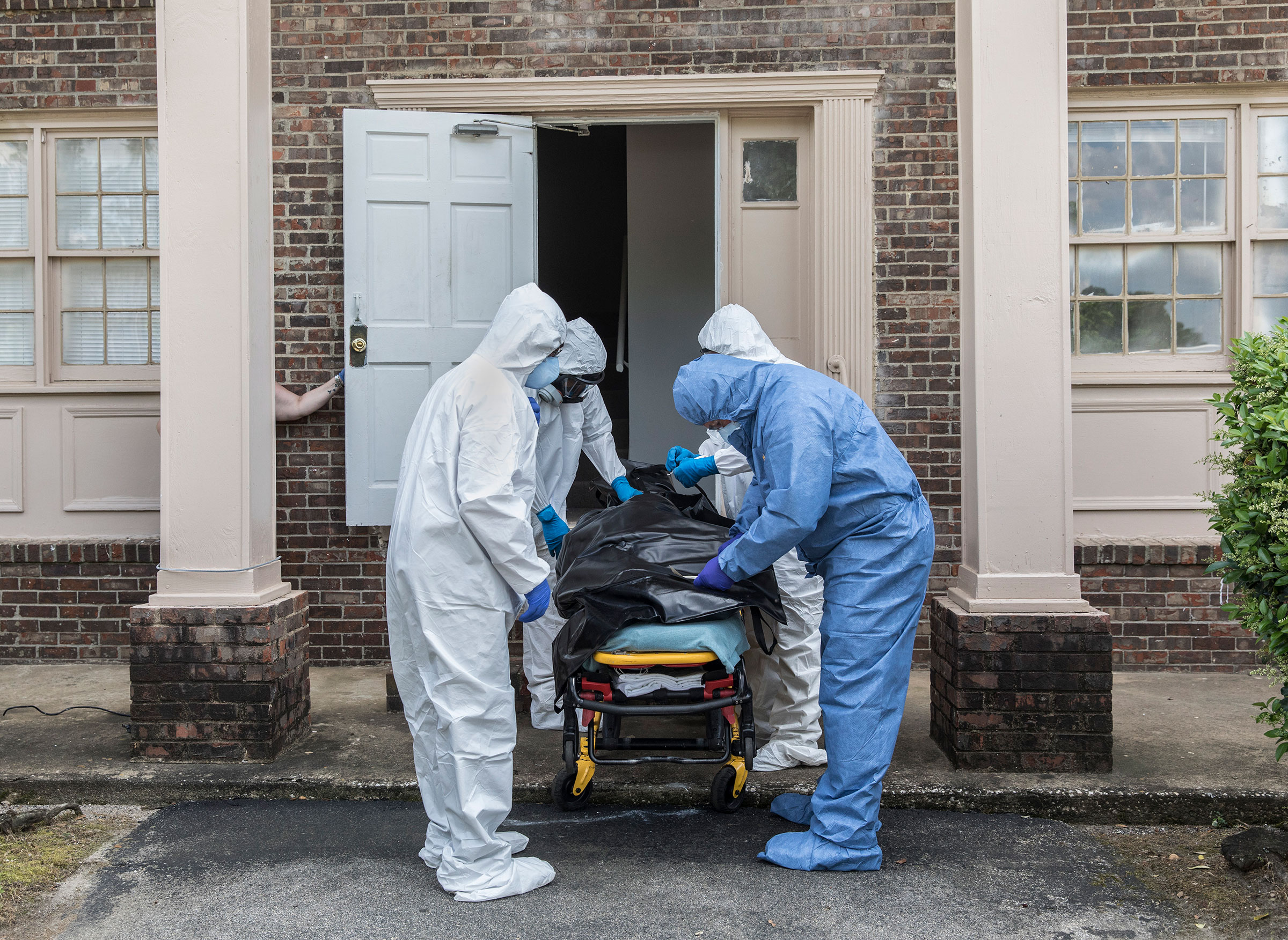 Michael Fowler, a coroner in Dougherty County, Ga., responds to a resident found dead alone in his apartment.