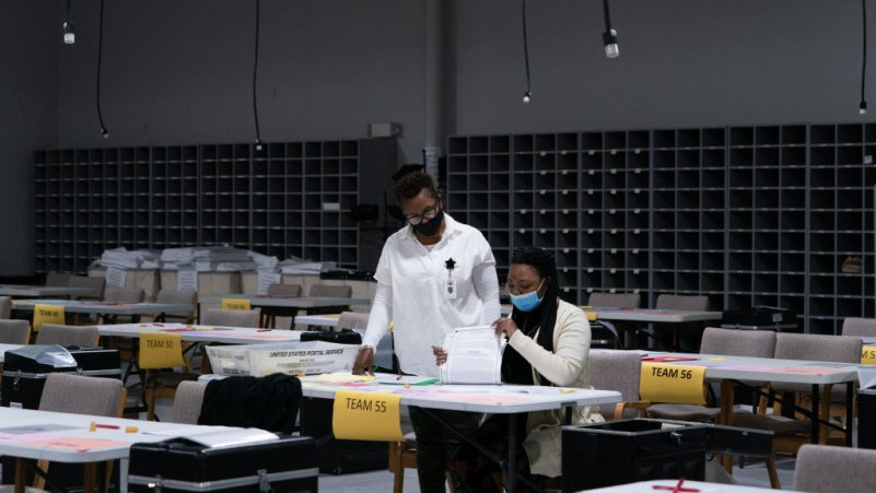 Georgia Is Becoming Ground Zero For Election Disinformation