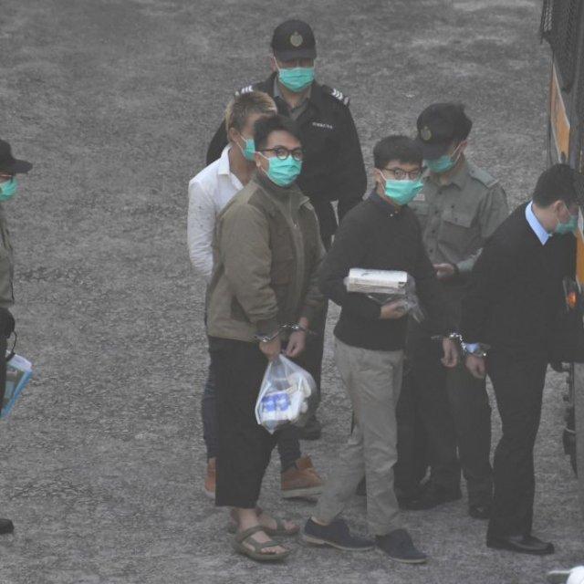 Jailed Joshua Wong Vows Hong Kong's Struggle Will Continue