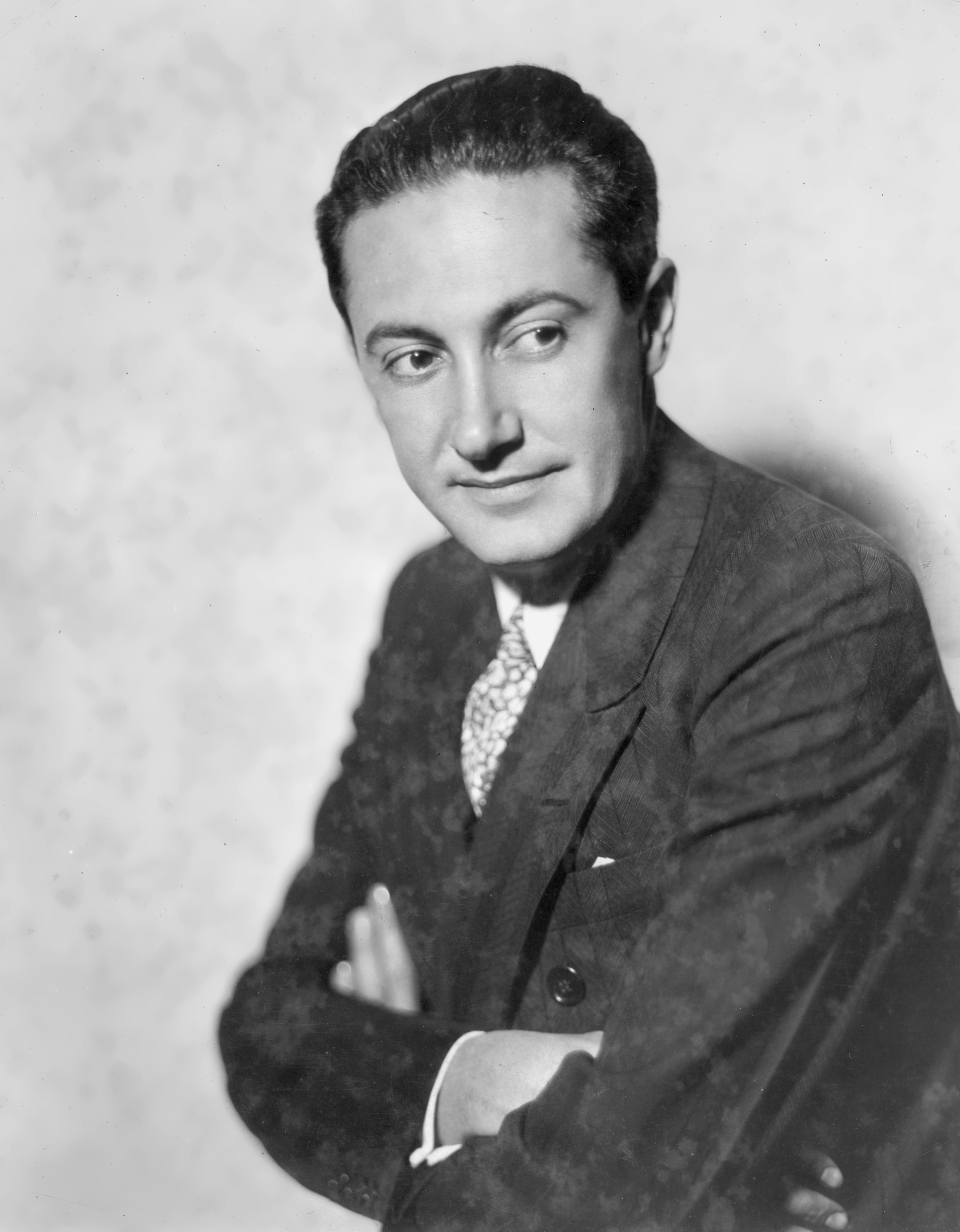 Portrait of producer and movie executive for MGM studios Irving Thalberg (1899 - 1936), circa 1932.