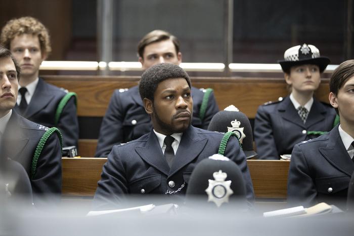 John Boyega as Leroy Logan in 'Red, White and Blue'